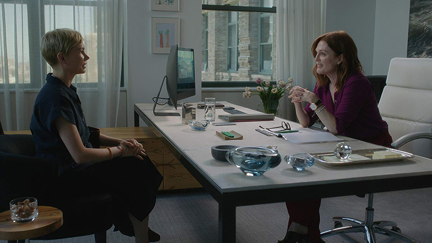 Julianne Moore and Michelle Williams in After the Wedding - Copyright 2018 Sundance Institute - Credit IMDB