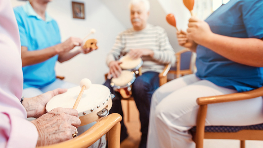 Care home music