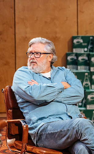 Conleth Hill in The Antipodes - Credit Manuel Harlan