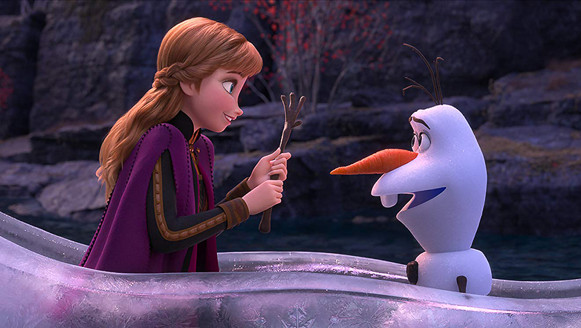 Kristen Bell and Josh Gad in Frozen 2 - credit IMDB