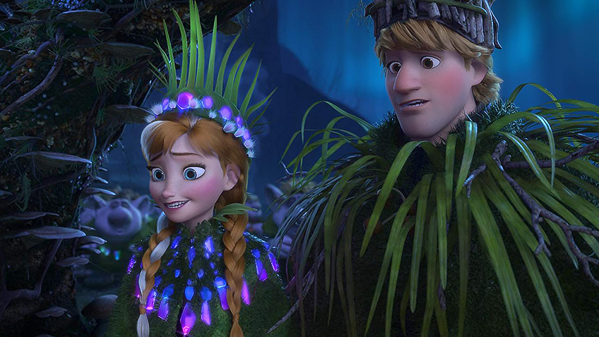Kristen Bell and Jonathan Groff in Frozen - Credit IMDB