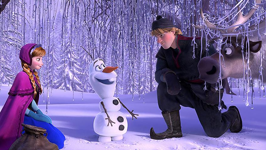 Kristen Bell, Josh Gad and Jonathan Groff in Frozen - Credit IMDB
