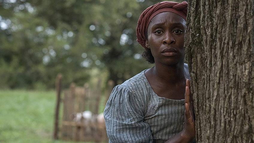 The great Harriet Tubman, brilliantly portrayed by Cynthia Erivo