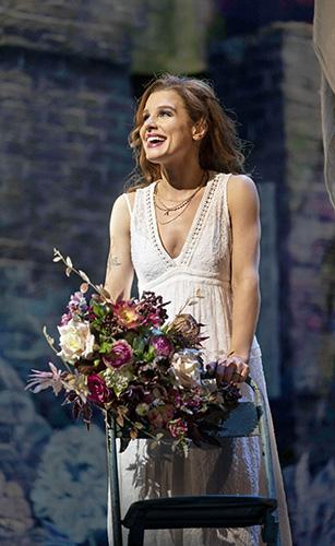 Cassidy Janson in & Juliet - Credit Johan Persson
