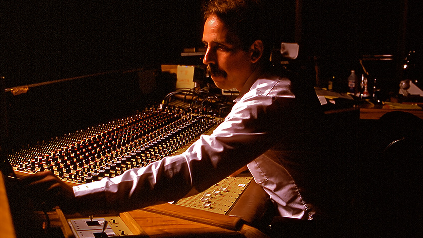Walter Murch mixing Apocalypse Now - Credit Dogwoof