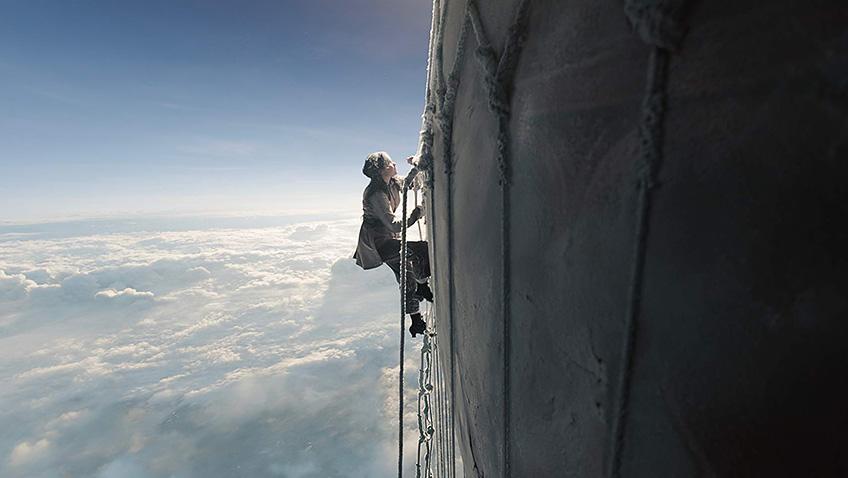 Felicity Jones in The Aeronauts - Credit IMDB