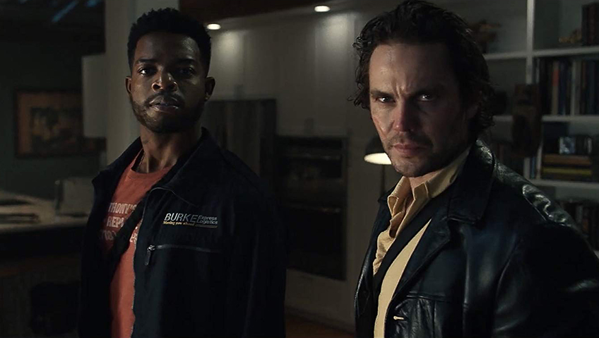 Taylor Kitsch and Stephan James in 21 Bridges - Credit IMDB