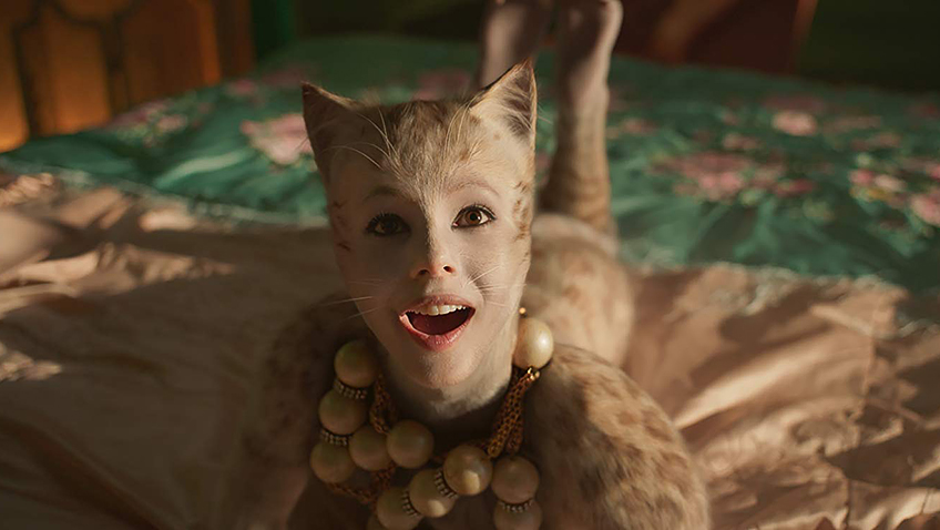 Francesca Hayward in Cats - Copyright 019 Universal Pictures. All Rights Reserved - Credit IMDB