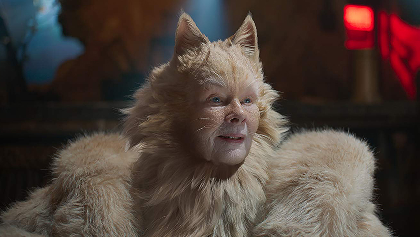 Judi Dench in Cats - Copyright 019 Universal Pictures. All Rights Reserved - Credit IMDB