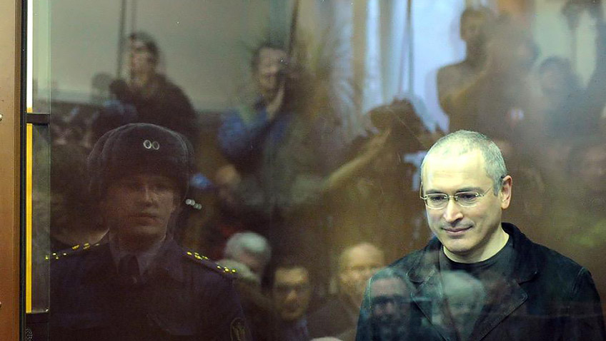 A spell-binding, heady and important look at the London-based oligarch Mikhail Khodorkovsky