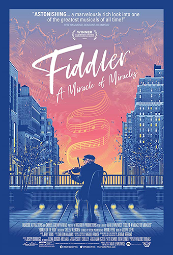 Fiddler: A Miracle of Miracles cover - Credit IMDB
