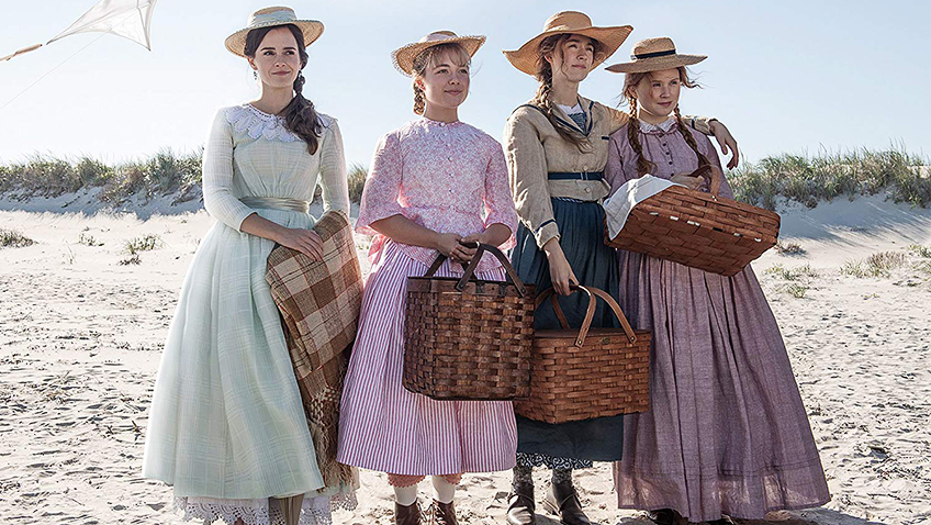Emma Watson, Saoirse Ronan, Florence Pugh and Eliza Scanlen in Little Women - Copyright 2019 CTMG, Inc. - Credit IMDB
