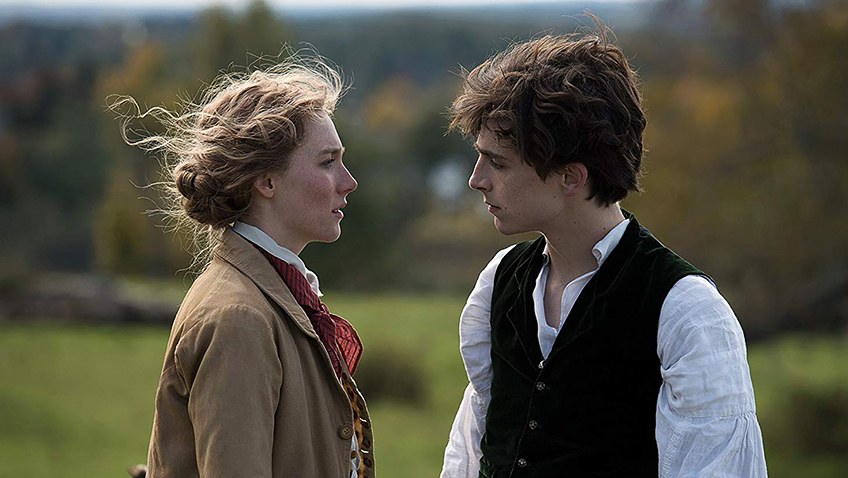 Saoirse Ronan and Timothée Chalamet in Little Women - Copyright 2019 CTMG, Inc. - Credit IMDB
