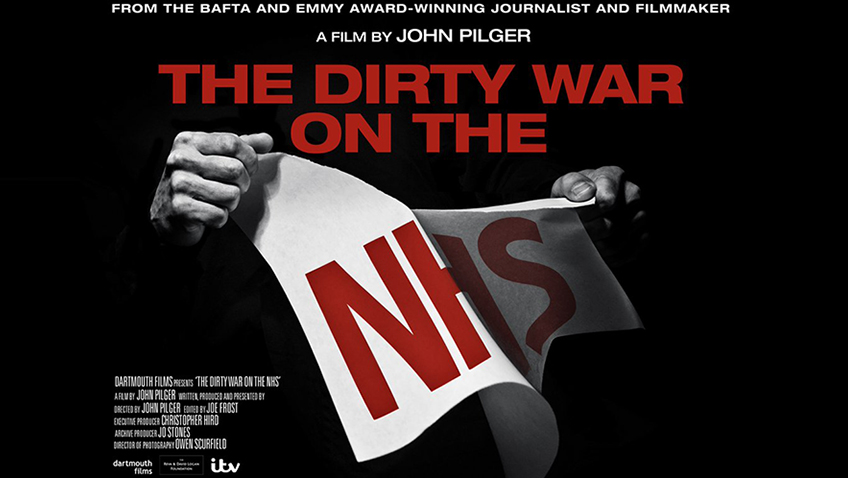 John Pilger delivers an impassioned, well-timed warning about the NHS