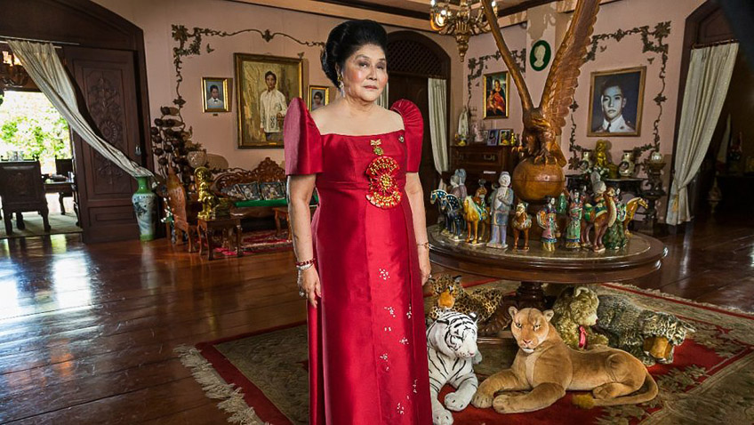 A riveting, spine-chilling profile of Imelda Marcos, the Queen of fantasy Island