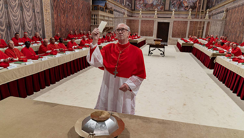 Papal diplomacy has never been more entertaining than with the heavenly performances from Pryce and Hopkins