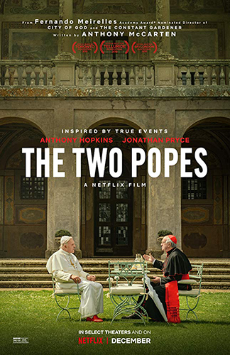 The Two Popes cover - Credit IMDB