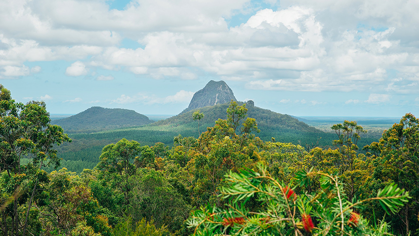 Glass House Mountain - Australia - Free for commercial use No attribution required - Credit Pixabay