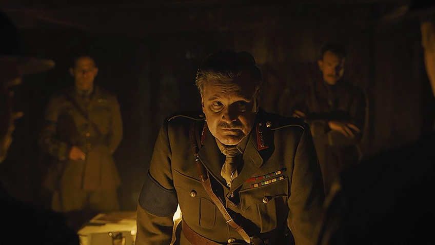 Colin Firth in 1917 - Credit IMDB
