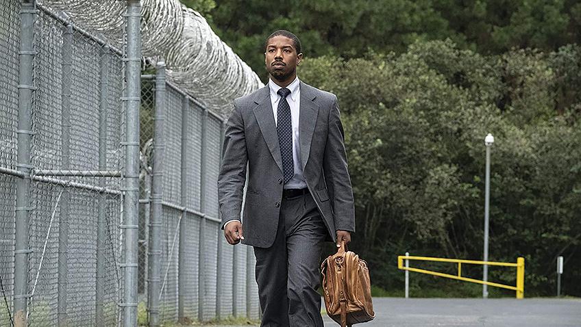Michael B. Jordan in Just Mercy - Credit IMDB