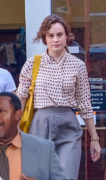 Brie Larson in Just Mercy - Credit IMDB