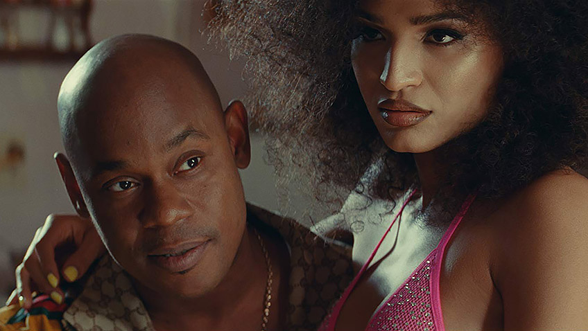 Bokeem Woodbine and Indya Moore in Queen & Slim - Copyright 2019 Universal Pictures. All Rights Reserved. - Credit IMDB