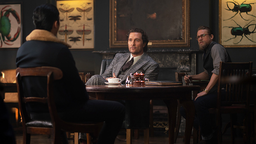 Guy Ritchie's star-studded return to London gangster lore fades fast