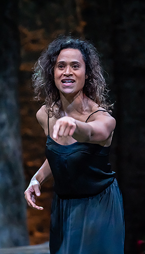 Angel Coulby in Albion - Credit Marc Brenner