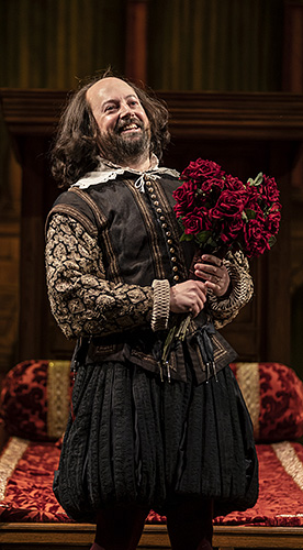 David Mitchell in The Upstart Crow - Credit Johan Persson