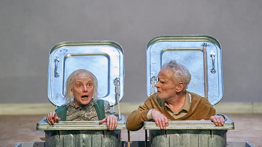Jane Horrocks and Karl Johnson in Endgame - Credit Manuel Harlan