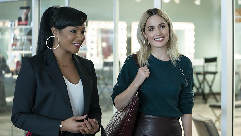 Rose Byrne and Tiffany Haddish in Like a Boss - Credit IMDB
