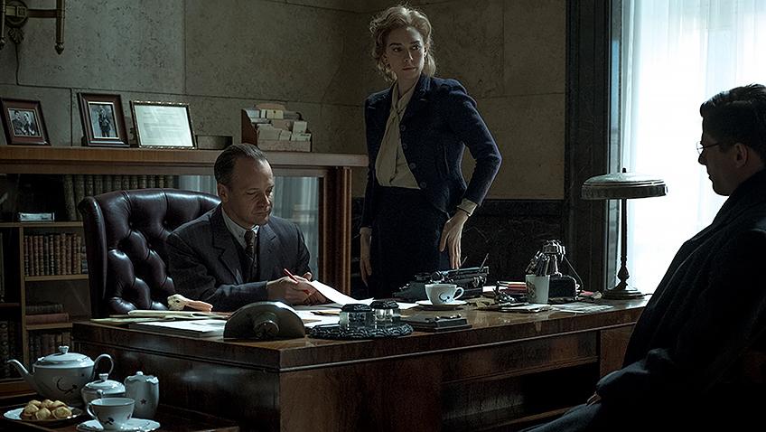 Peter Sarsgaard, James Norton and Vanessa Kirby in Mr. Jones - Credit IMDB