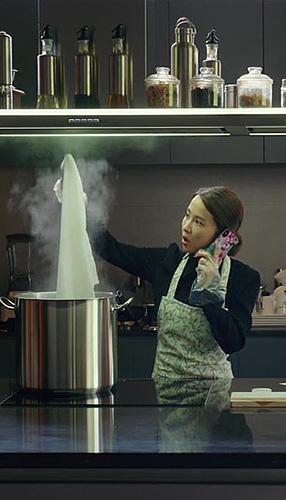 Yeo-jeong Jo in Parasite - Credit IMDB