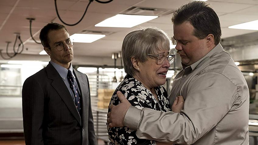 Kathy Bates, Sam Rockwell and Paul Walter Hauser in Richard Jewell - Credit IMDB
