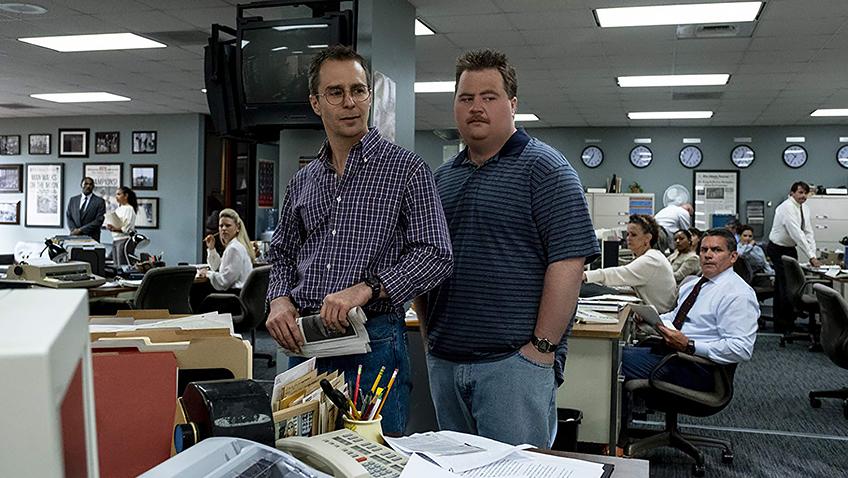 Sam Rockwell and Paul Walter Hauser in Richard Jewell - Credit IMDB