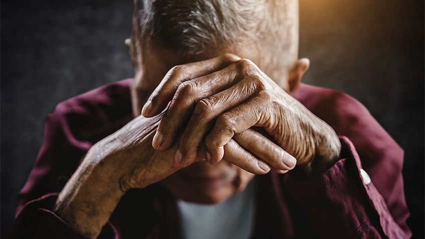 "Older people encouraged to ditch ""stiff upper lip"" approach to mental ill health"