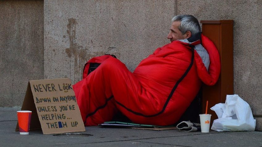 Sharp increase in hospital admissions related to homelessness