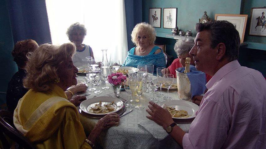 Mid-August Lunch (Pranzo Di Ferragosto) Cert U, 76 mins.