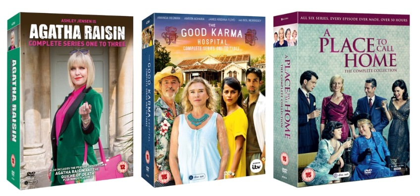 Keep yourself occupied over Christmas with this fabulous TV boxset prize!