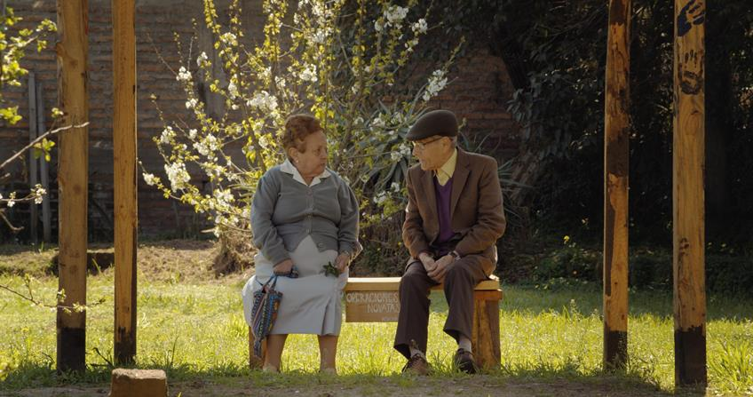 An 83-year-old family man goes undercover in a nursing home in this Chilean docudrama.