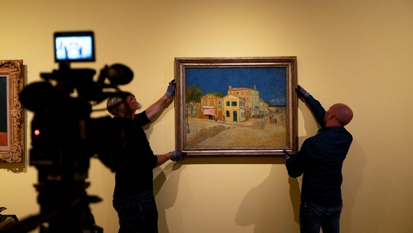 Though UK galleries are open, if you missed Amsterdam's Van Gogh and The Sunflowers exhibition, head for the cinema.