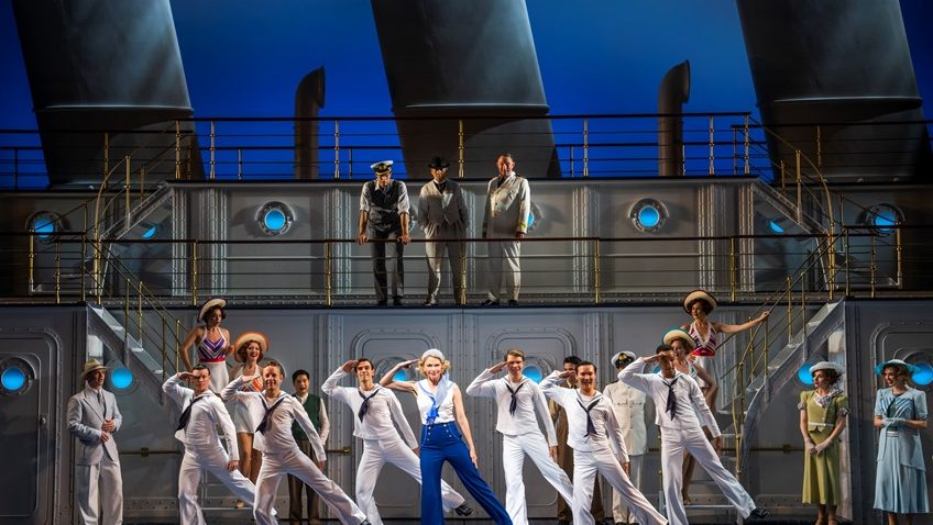 Robert Tanitch reviews Anything Goes at the Barbican Theatre
