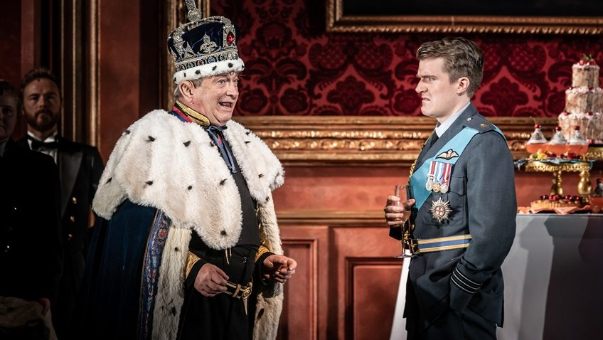 Robert Tanitch reviews The Windsors Endgame at The Prince of Wales Theatre, London