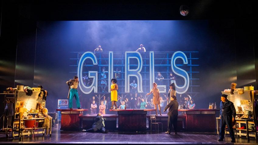 Premiere of Opera North's Carmen at Leeds Grand Theatre 02 October 2021